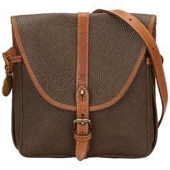 Mulberry Brown PVC Shoulder Bag