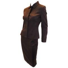 """Dolce & Gabbana  """"Power"""" wool skirt suit sz S"""