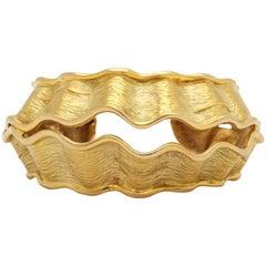 Chanel Vintage Gold Cuff