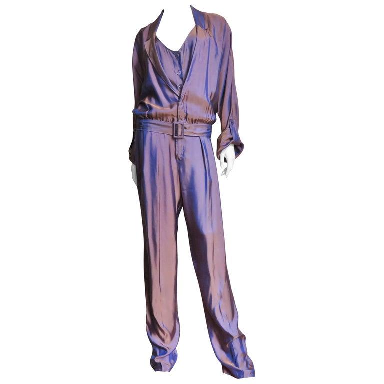 2000s Gucci Layered Jumpsuit 1