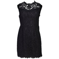 IRO Black Lace Corail Dress Sz IT36