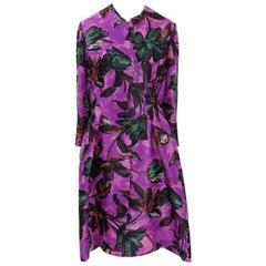 Marni Printed Silk Draped Coat, Spring - Summer 2009