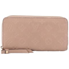 Louis Vuitton Monogram Empreinte Leather Zippy Wallet