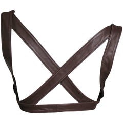 1980s Krizia Leather Harness