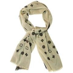 Louis Vuitton Reversible Monogram Silk Scarf