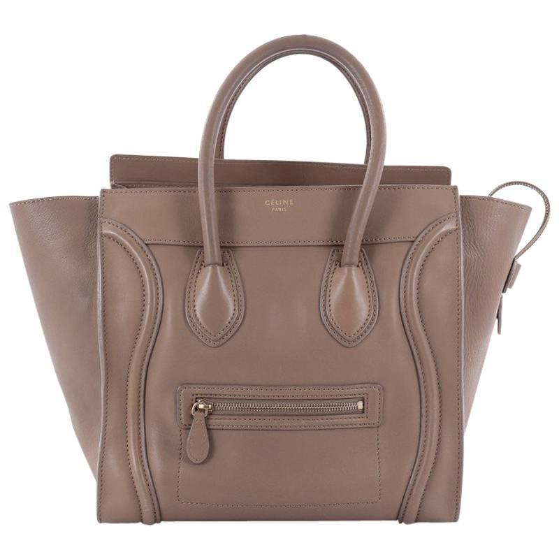 1stdibs Celine Vintage Bag In Navy Smooth Leather qIX49Jxn
