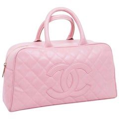 CHANEL Handbag in Pink Quilted Leather