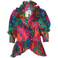 Vintage Jean Muir Floral Jacket