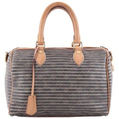 Louis Vuitton Speedy Bandouliere Bag Limited Edition Monogram Eden 30