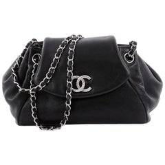 Chanel Paris-Moscow Accordion Flap Bag Leather Small