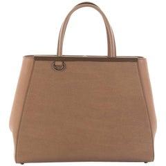 Fendi 2Jours Handbag Leather Medium