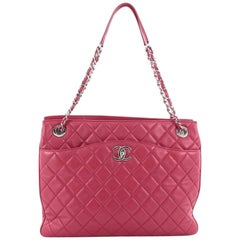 Chanel Quilted Lambskin Medium 3 Tote