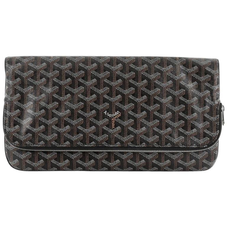 1stdibs 1990s Chanel Black And White Canvas Clutch 0xWO7fRVQr
