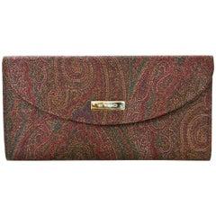 Etro Paisley Bi-Fold Wallet NIB
