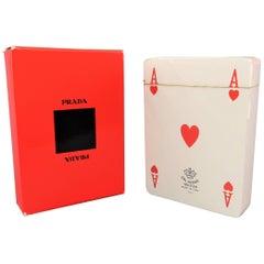 PRADA Red Playing Cards