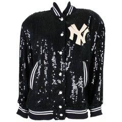1980's St. Martin Sequined Yankees Bomber Jacket