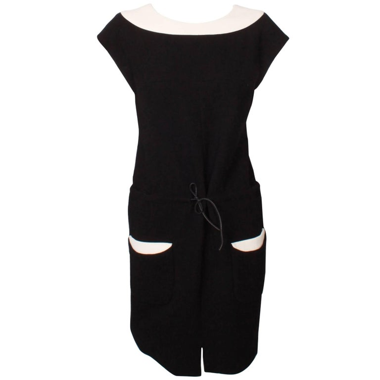 Chanel 2 Tone Dress