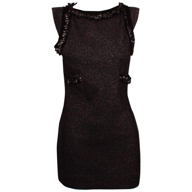 Chanel Body Con Mini Dress