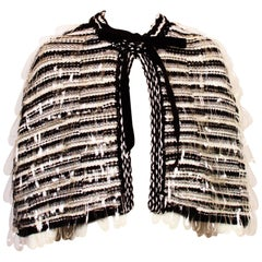 CHANEL Knitted Cape