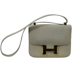 1973 Hermes Constance Bag in Whale Leather