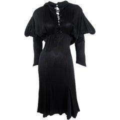 Thierry Mugler Hooded Dress