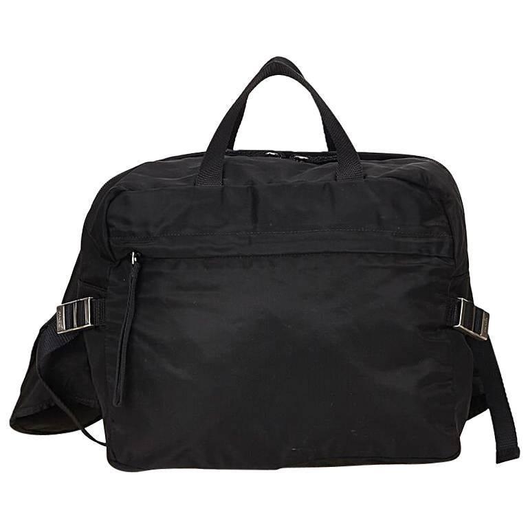 3bf61b841d91 promo code for black prada nylon convertible bag for sale b3844 ceada