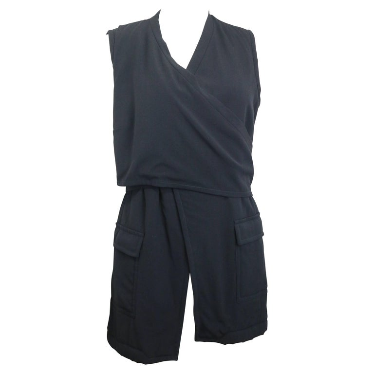 Dries Van Noten black wool vest