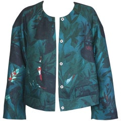 Dries Van Noten Dark Floral Jacket