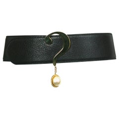 Moschino Question Mark Belt
