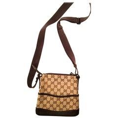 Gucci Iconic Pattern Crossbody Messenger Bag
