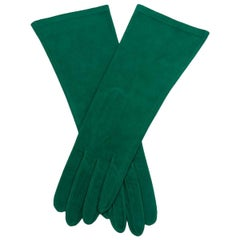 Yves Saint Laurent Suede Gloves