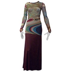 Jean Paul Gaultier Tunic and Long Skirt