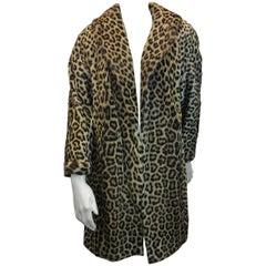 Leopard Vintage Fur Coat