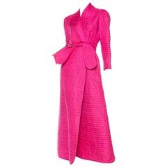 1970s Lightweight Quilted Silk Coat