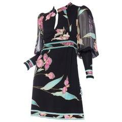 1970s Leonard Mini Dress