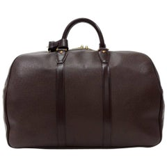 Louis Vuitton Kendall PM Burgundy Taiga Leather Travel Bag