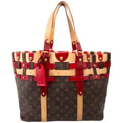 Louis Vuitton Monogram Rubis Salina GM Tote Bag