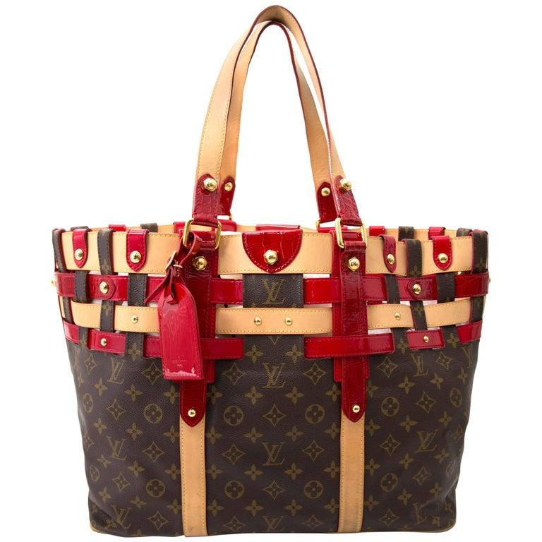 Louis Vuitton Monogram Rubis Salina GM Tote Bag