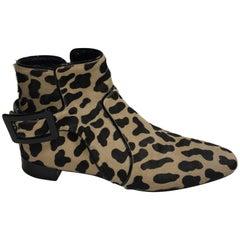 Roger Vivier Leopard Booties