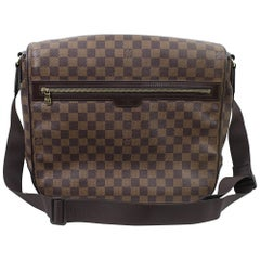 Louis Vuitton Damier Eeben Spencer Crossbody Bag / Briefcase