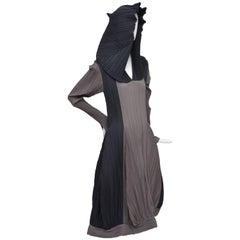 Issey Miyake Bi-Color Vintage Dress