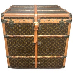 Louis Vuitton Monogram Cube Trunk MM Wright,  circa 1920