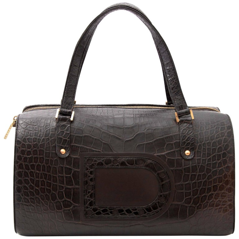 Delvaux Le Astrid Bag Croco
