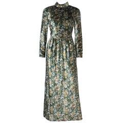 Christian Dior  Silk Velvet Gown