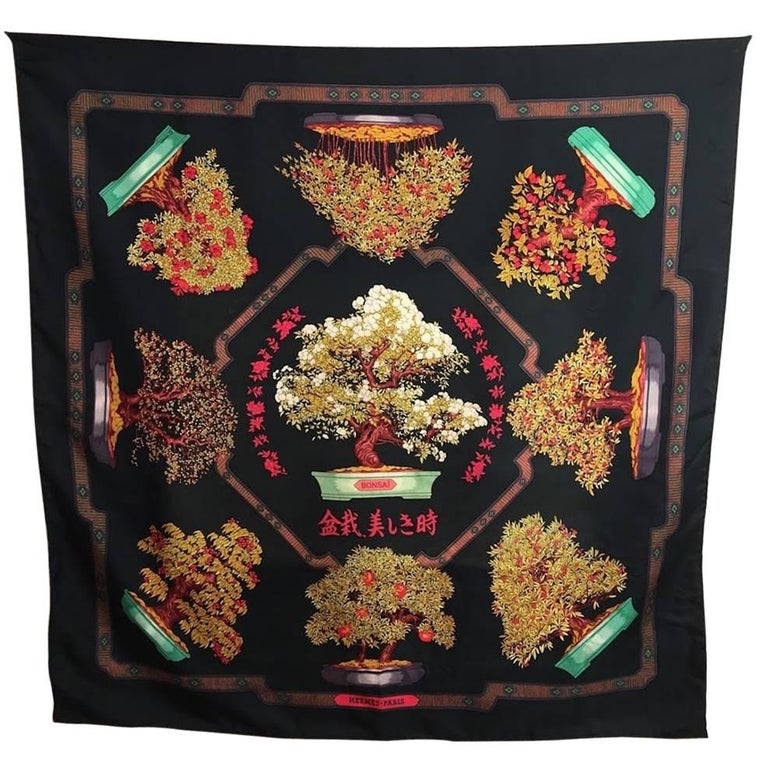 Bonsai Hermes Scarf