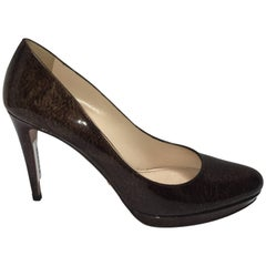Prada Round Toe Pumps