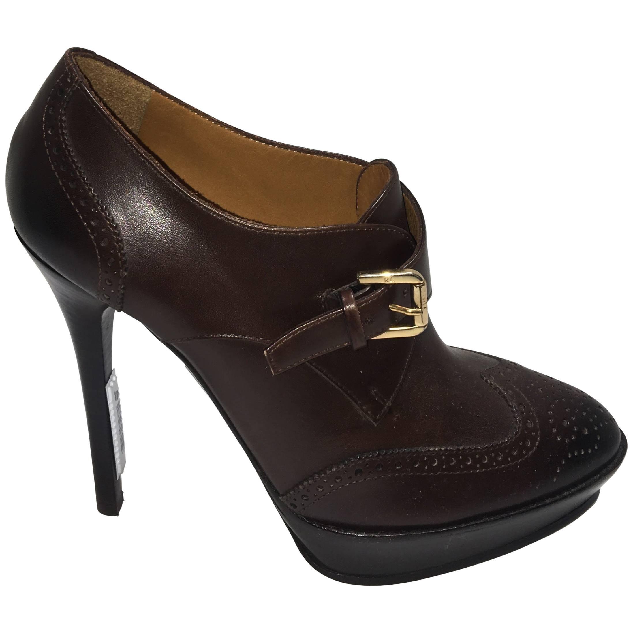 Ralph Lauren Purple Label Heels