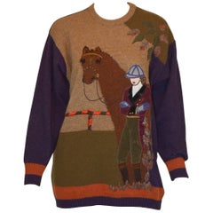 Gucci M.J. Knoud Horse and Rider Sweater