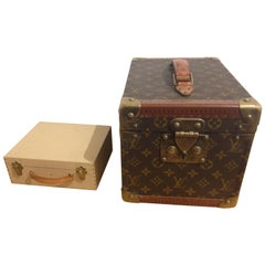 Louis Vuitton Vanity Case Vintage Trunk
