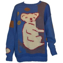 Jenny Kee Princess Diana Koala Bear Sweater
